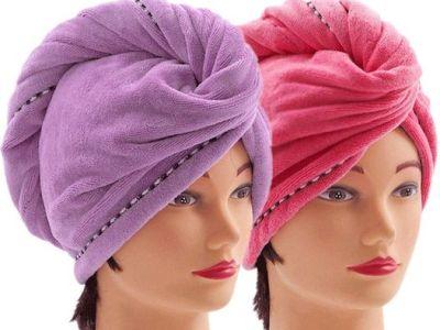 Amazon: Microfiber Hair Towel Wraps for Women (2 pack), Just $5.38 (Reg $6.99)
