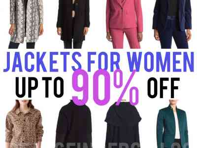 Nordstrom Rack: Jacket's for Women, Up to 90% off!