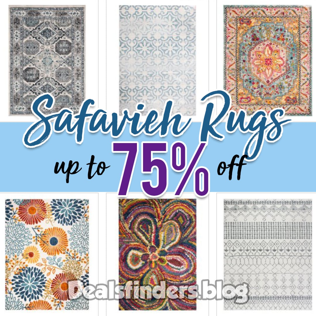 Zulily: Safavieh Rugs, up to 75% off!