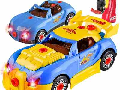 Amazon: Toy Car Comes with Engine Sounds & Lights & Drill with Toy Tools, Just $13.79 (Reg $23.00) after code!