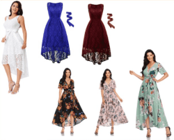 Amazon: Wrap V Neck Floral Print Maxi Dress for only $15.59 (Reg: $25.99)