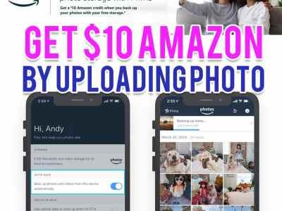 Amazon: Get a $10 Amazon Credit by Uploading One Photo to Amazon Photos!