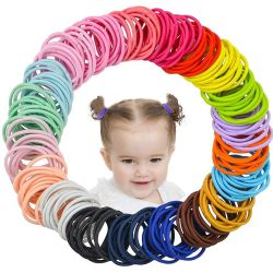 Amazon: 200Pcs Hair Ties For Girls $2.99 (Reg. $5.99)