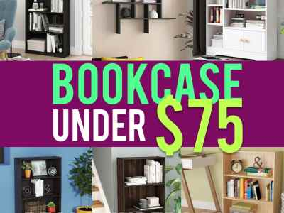 Wayfair: Home and Office Bookcases, Just under $75!