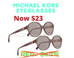 Woot: Michael Kors Eyeglasses $23 (Reg. $125)