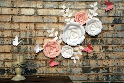 Amazon: 3D Paper Flowers Decorations for only $8.49 (Reg: $16.99)