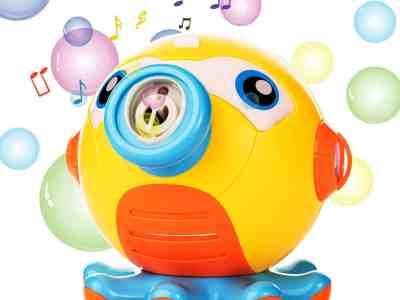 Amazon: Automatic Music Bubble Blower, Just $6.39 (Reg $15.99) after code!