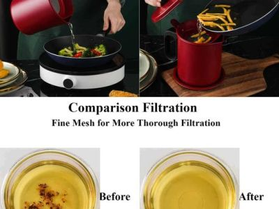 Amazon: Bacon Grease Container Grease Storage Can, Just $12.44 (Reg $24.88) after code!