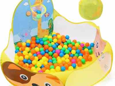 Amazon: Ball Pit for Toddlers (Balls Not Included), Just $8.49 (Reg $18.99) after code!