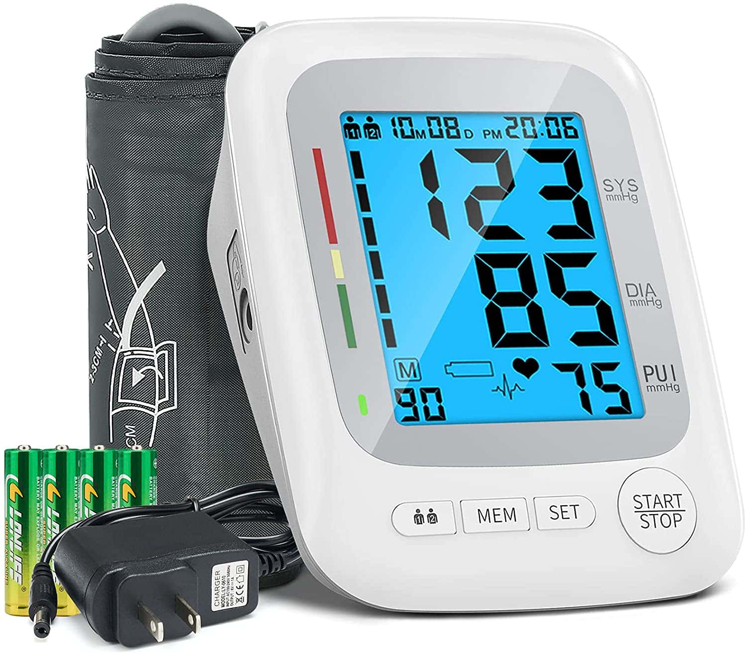 Amazon: Blood Pressure Monitor for Upper Arm with Large Backlit Display, Just $22.19 (Reg $36.99) after code!