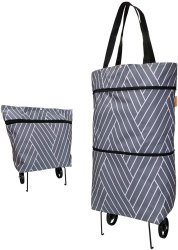 Amazon: Foldable Collapsible Trolley Bag for ONLY $10.99 W/Code (Reg. $21.99)