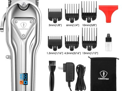 Amazon: Hair Clippers Full Metal for Men Cordless, Just $23.97 (Reg $33.97) after coupon!