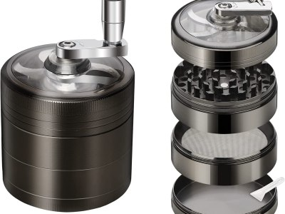 Amazon: Herb Grinder, Spice Herb Grinder with Pollen Catcher 4 Pieces, Just $7.19 (Reg $17.99) after code and coupon!