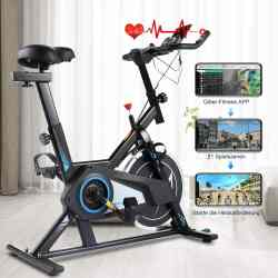 Amazon: Indoor Cycling Stationary Bike Belt Drive, Just $18.99 (Reg $729.99) after code!