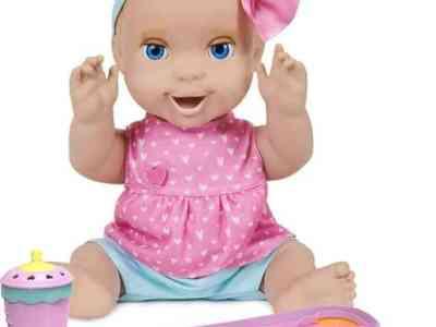 Amazon: Interactive Feeding Baby Doll, Just $23.24 (Reg $59.99)