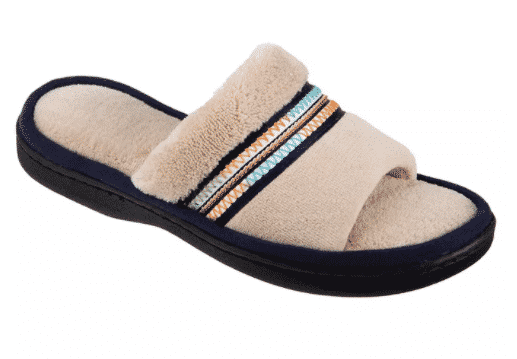 Macy's: Isotoner Women's Microterry Anna Slide Slippers for $9.03 (Reg. Price $26.00)