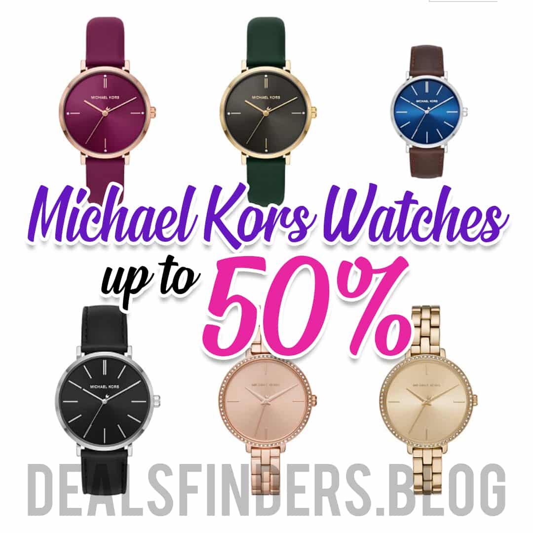 Macy's: Michael Kors Watches, 50% off!