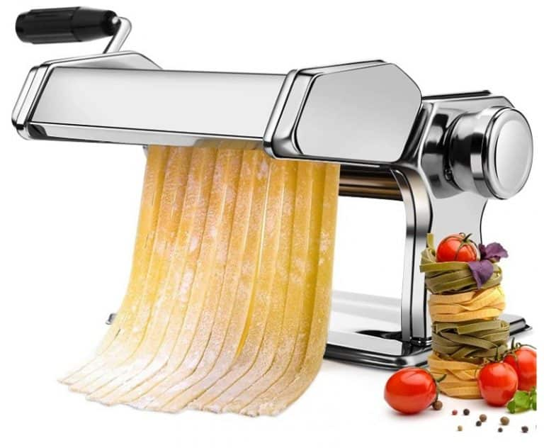 Amazon: Pasta Maker with 9 Adjustable Thickness Settings for $32.49 (Reg. Price $64.99)
