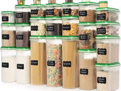 Amazon: Set of 56 Pc Food Storage Containers, Just $69.99
