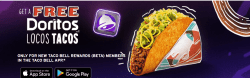 FREE Taco Bell Crunchy Taco on May 4th - No Purchase Necessary