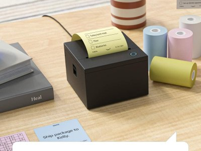 NEW! Sticky Notes Printer with Alexa Enabled by Amazon