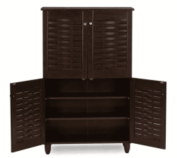 Walmart: 3 Door Shoe Storage Cabinet $88.54 (Reg. $99.97)