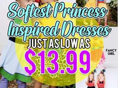 Jane: Softest Princess Inspired Dresses, Just $13.99