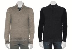Kohl's: Men's Clearance Sweaters As Low As $6 (Reg. $45)