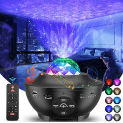 Amazon: 3 in 1 Galaxy Star Projector with Remote Control only $0.34 (Reg. $33.99)