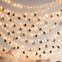 Amazon: 50 LEDs 50 Photo Clips String Light for ONLY $5.80 W/Code (Reg. $28.99)