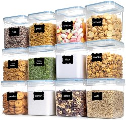 Amazon: 12 Pcs Airtight Food Storage Containers for ONLY $21.59 (Reg. $35.99)