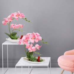 Amazon: Artificial Orchid Arrangements for ONLY $14.39-22.79 (Reg: 37.99)