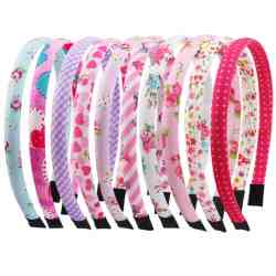 Amazon: 10 Pcs Candygirl Cloth Headbands for ONLY $5.49 (Reg. $10.99)