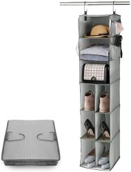 Amazon: 9 Shelves Hanging Closet Organizer for ONLY $5.70 w/code (Reg. $18.99)