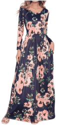 Amazon: Maxi Dresses Casual Long Dresses with Pockets for ONLY $11.84 (Reg: $23.68)