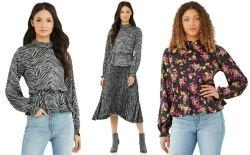 Walmart: Women's Ruffle Hem Blouse $6 (Reg. $25)