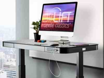 Electric Adjustable Standing Height Desk Only $279.99 Shipped on HomeDepot.com (Regularly $400)