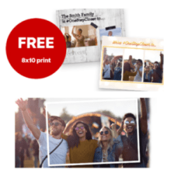 CVS: FREE 8×10 Designer Photo Print ($5 Value!)