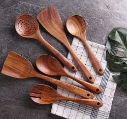 Amazon: NAYAHOSE Wooden Cooking Utensil Set $4.13 (Reg. $34.79)