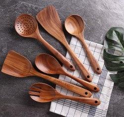 Amazon: NAYAHOSE Wooden Cooking Utensil Set $4.13 (Reg. $34.79)