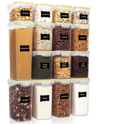 Amazon: 15 Pieces Airtight Food Storage Containers Set with Lids for $19.99