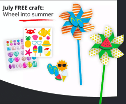 Free JCPenney Kids Zone Craft: Pick Up A Summer Craft!