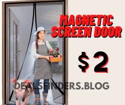 Amazon: Magnetic Screen Door for $2 (Reg. $15.28)