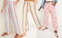 Old Navy: Women's Linen Pants $12 (Reg. $40)
