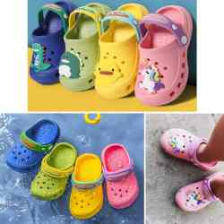 Amazon: Toddler Clog/Croc Shoes with Stickers for $7.30-$10.33 (Reg. $21.99)