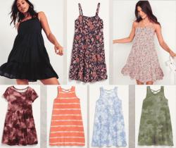 Old Navy: Women's & Girls Dresses for JUST $7