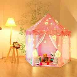 Amazon: Princess Castle Play Tent ONLY $18.71 (Reg. $38.99)