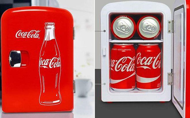 Walmart: Coca-Cola Mini Fridge $29 (Reg. $50)