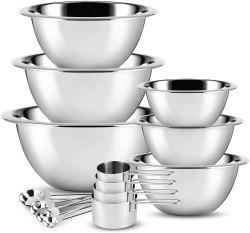 Amazon: JoyTable Mixing Bowls Set of 14 $12.74 (Reg. $24.99)