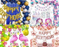 Amazon: Yansion Birthday Party Decorations $8.00-10.00 (Reg. $15.99-19.99)